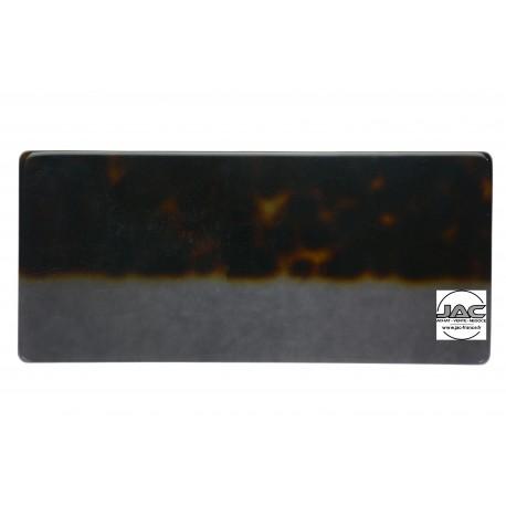 Ecailles Marron sur transparent Gris - 0028EC