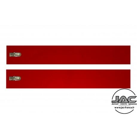 Transparent Rouge - 0013TR