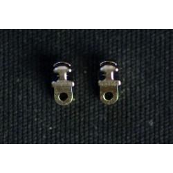 Charnières à incruster C9 4,5mm / 0°