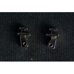Charnières à incruster pour armature flex 3,8mm / 0° (pack 8)