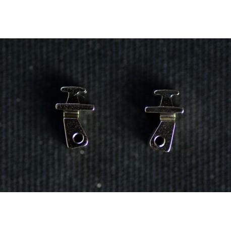Charnières à incruster pour armature flex 3,8mm / 0°