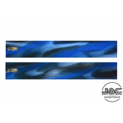 Transparent Jaspé Bleu - 0070TR