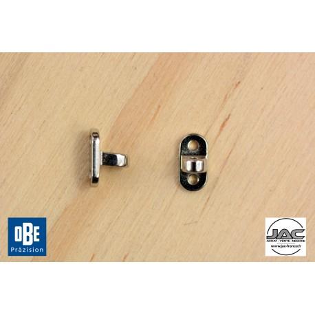 Charnières à riveter mâle 4,0mm - OBE