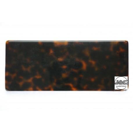 Ecailles Beige avec placage Marron - 0037EC