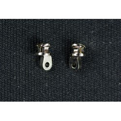 Inlay Hinges C9 4,2mm / 6° (pack 1-4) + Screws