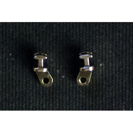 Charnières à incruster C9 5,0mm / 5°