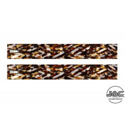 Temples Brown Stripes - 0019RATR