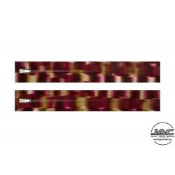 Effet Géométrique Rouge - 0019EGTR