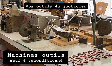 Nos Machines Outils